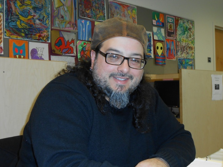 Christopher_Luna_Free_Poetry_Workshop_WSUV_Writing_Center by Louise Wynn