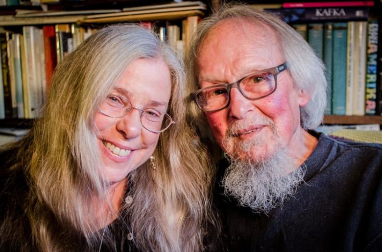 David Meltzer & Julie Rogers. Oakland 9/2014
