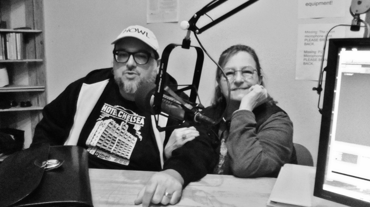 Chris and Toni at KBOO with Judith