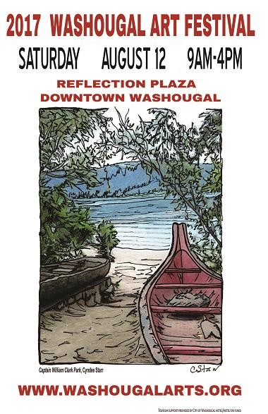 2017_washougal_art_festival_poster_canoe_DRAFT2