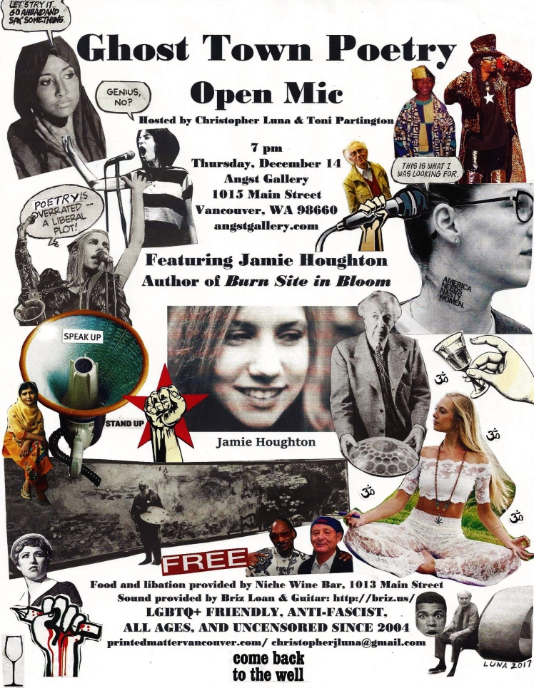 Ghost Town Poetry Open Mic Flyer December 14 2017 cropped