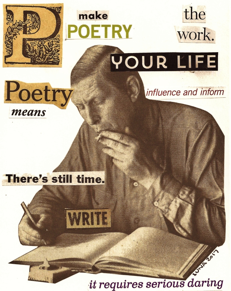 The Work 2017 Make Poetry Your Life
