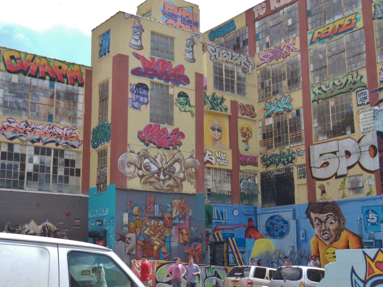 5 Pointz courtyard charm etc