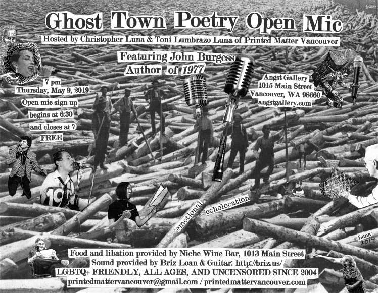 Ghost Town Poetry Open Mic Flyer May 9 2019 cropped