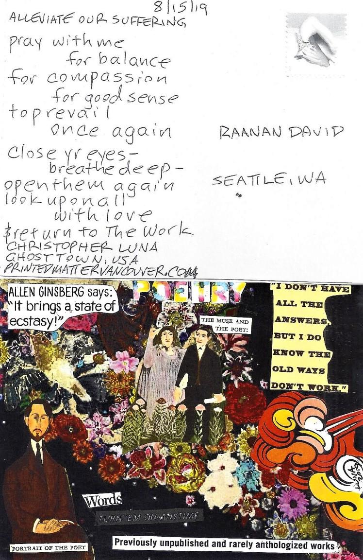 August 15 David Raanan