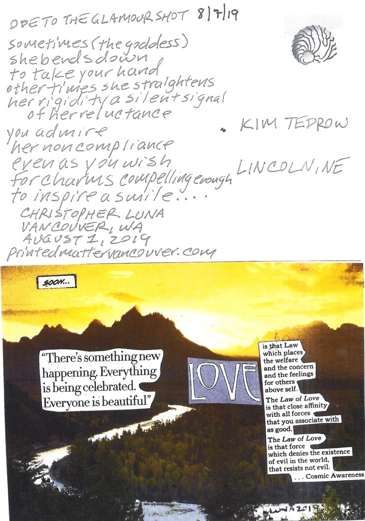 August 7 Kim Tedrow