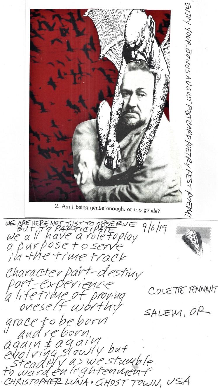 September 6 Colette Tennant