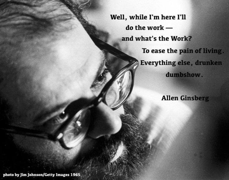 Allen with quotation by Jim Johnson 1965