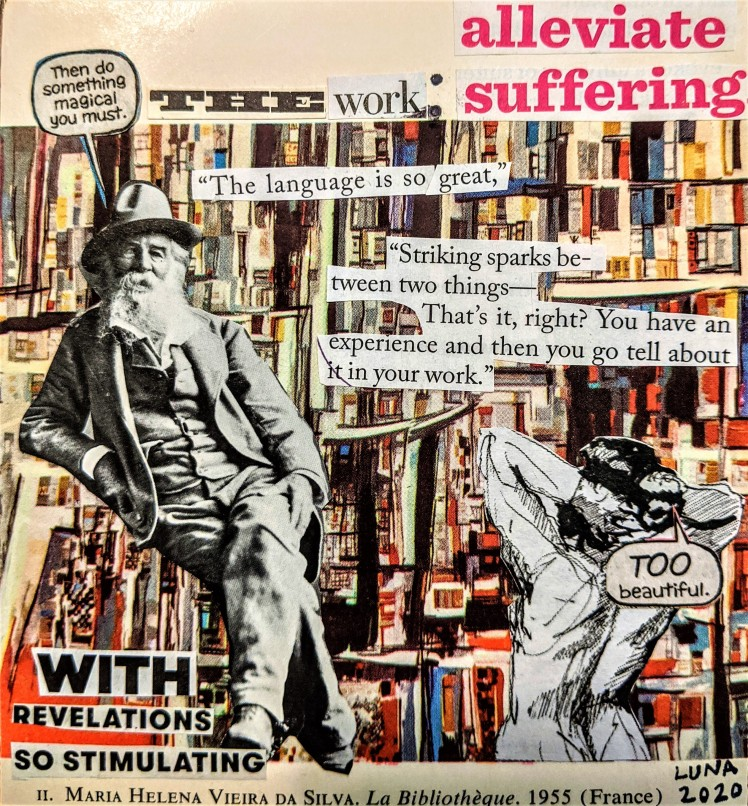 The Work alleviate suffering March 28 2020